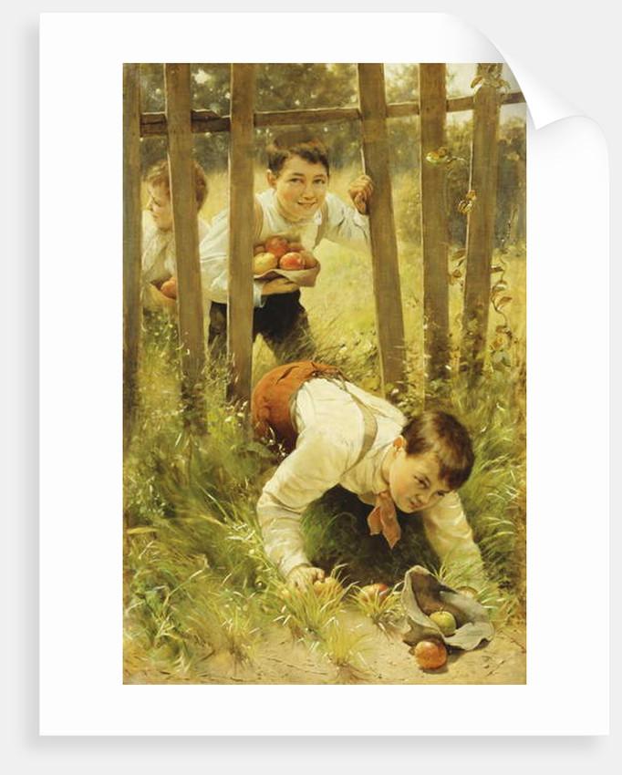 Stealing Apples by Karl Witkowski