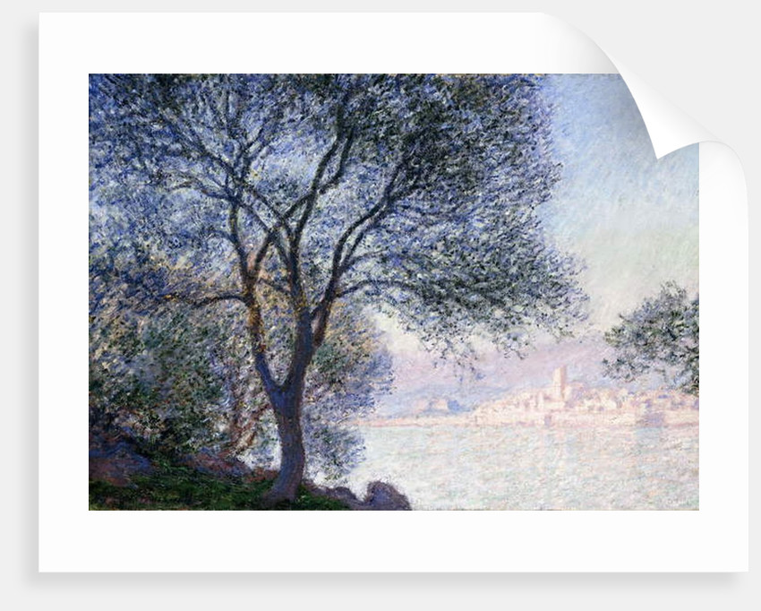Antibes seen from the Salis, 1888 by Claude Monet