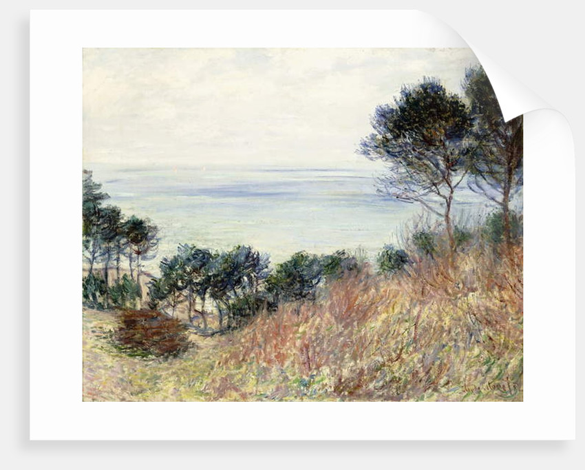 The Coast of Varengeville, 1882 by Claude Monet