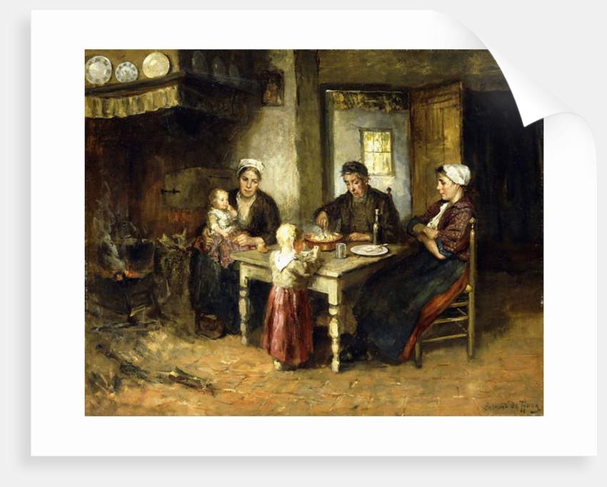 Evening Meal by Bernard de Hoog