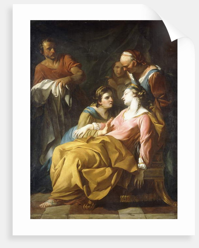 Phaedra receiving the News of Hippolytus's Death by Noel Halle