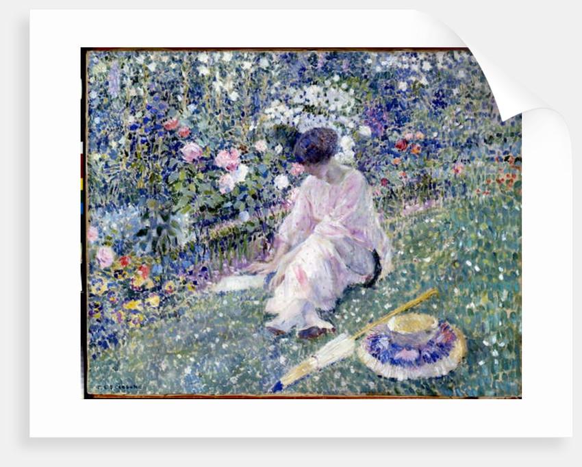 Garden in June, 1911 by Frederick Carl Frieseke