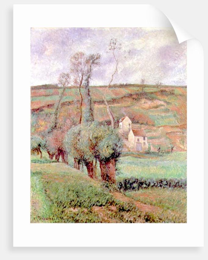 The Cote de Chou at Pontoise, 1882 by Camille Pissarro