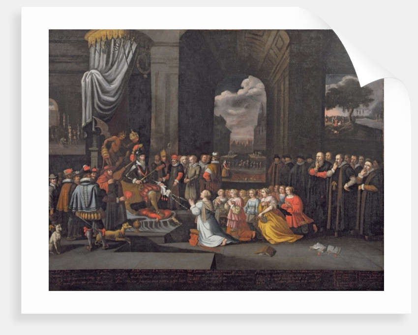 Persecution by the Duke of Alba in 1568 by Dutch School