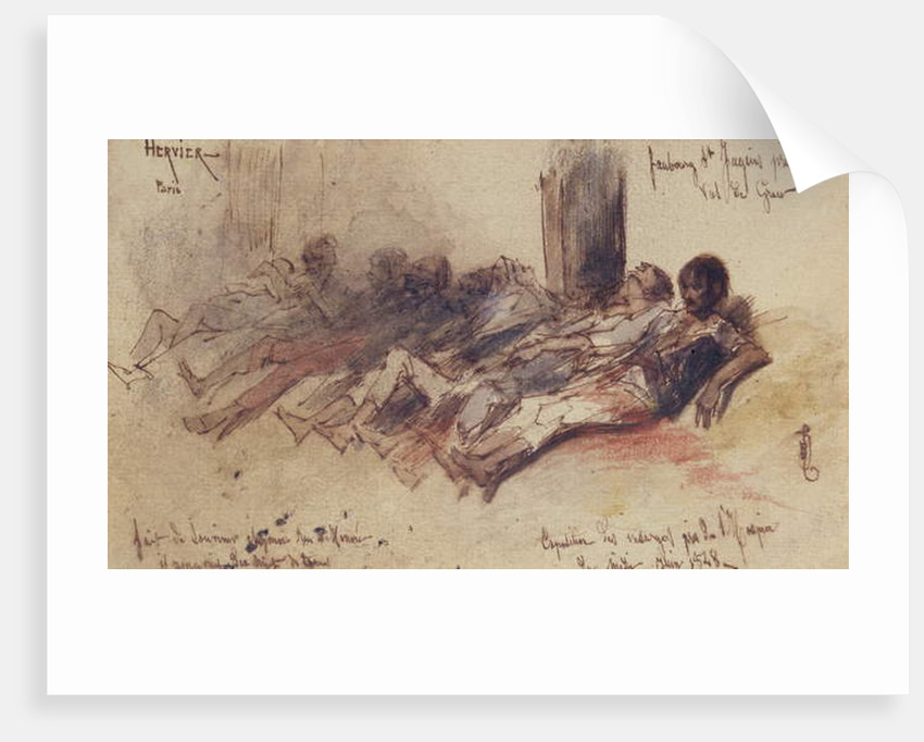 Victims of June 1848 by Louis Adolphe Hervier