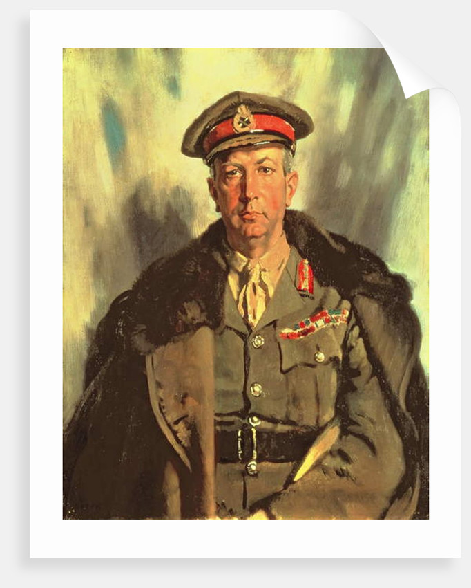 Lieutenant-General Sir A.W. Currie c.1918 by William Orpen