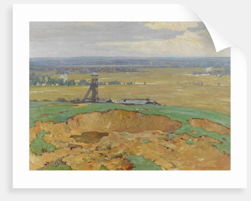 Lievin from Vimy Ridge, 1914-19 by John William Beatty
