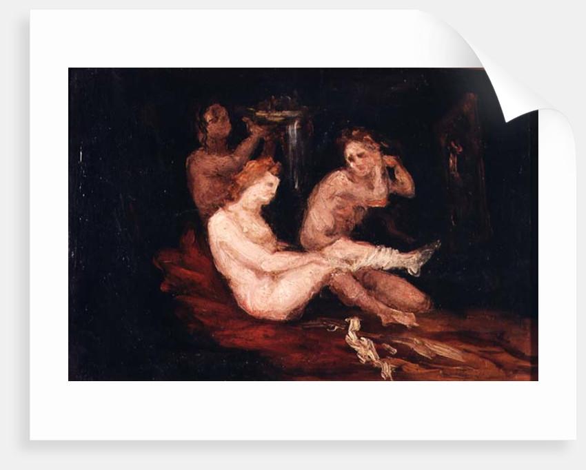 Three Women by Paul Cezanne