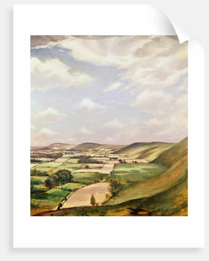 Sussex Landscape by Christopher Richard Wynne Nevinson