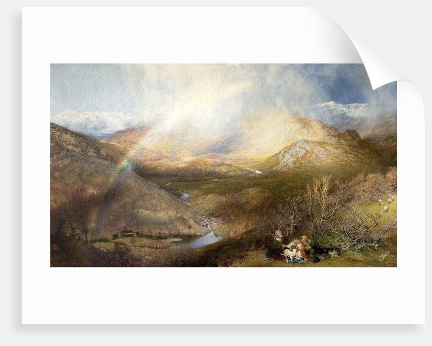 The Rainbow, 1862 by Henry Clarence Whaite