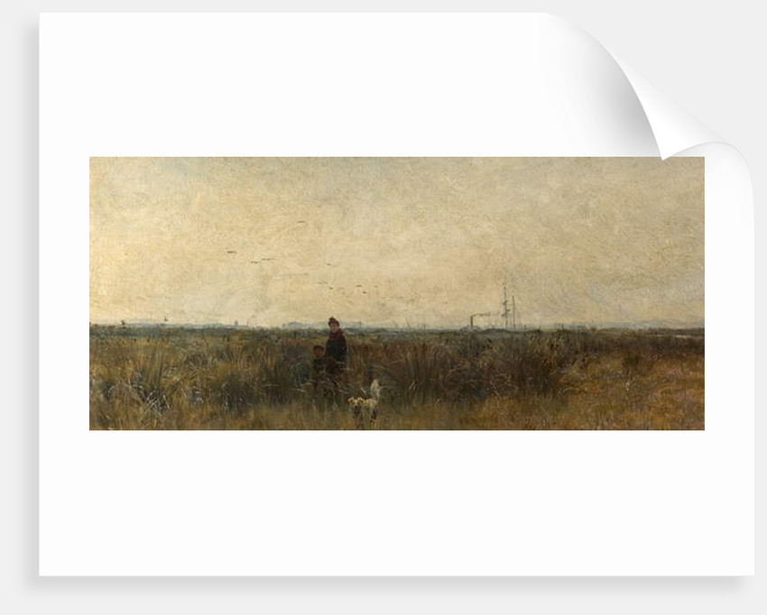 Romney Marsh by William Lionel Wyllie