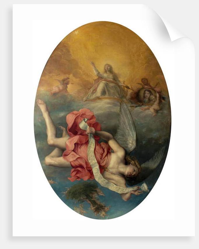 Astraea Returns to Earth by John Michael Wright