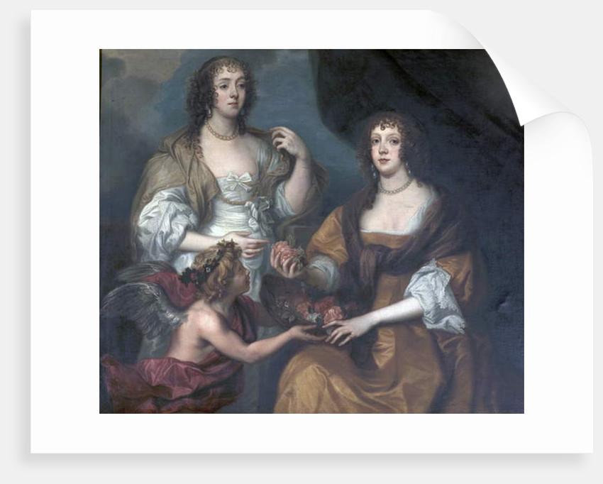 Lady Elizabeth Thimbelby and Dorothy, Viscountess Andover by Anthony van Dyck