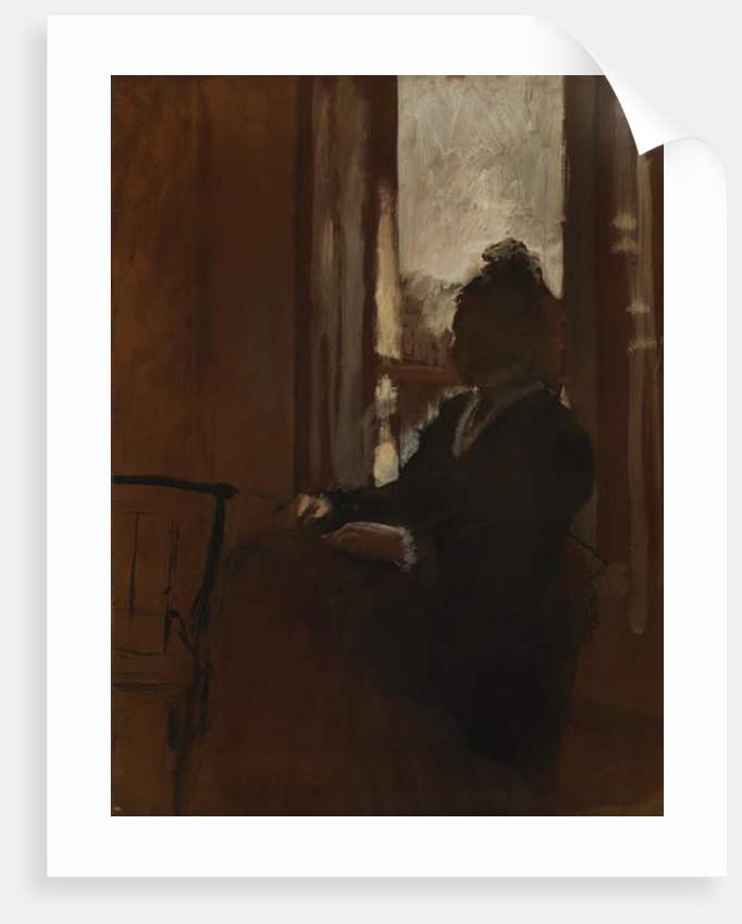 Woman at a Window, 1871-2 by Edgar Degas