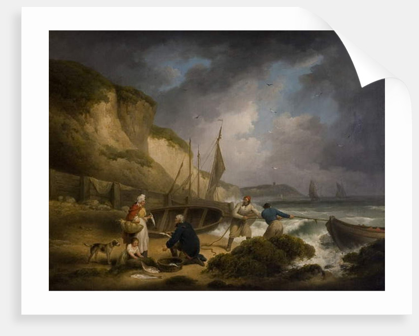 Selling Fish, c.1799 by George Morland