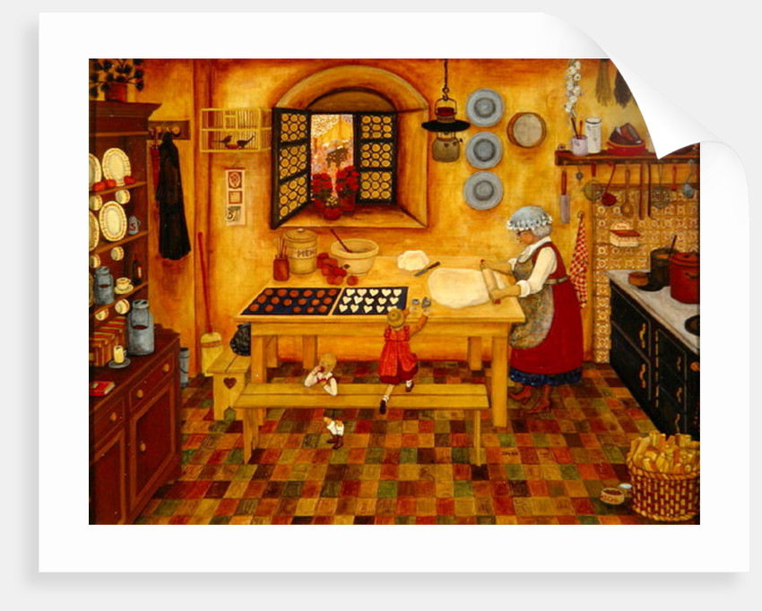 Biscuit Baking Day by Ditz Ditz