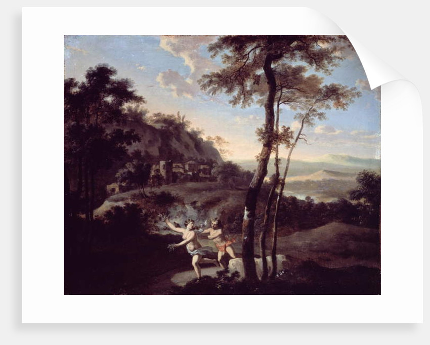 Apollo and Daphne by Gerard Hoet