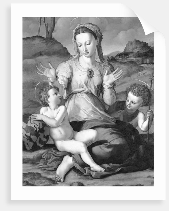 Madonna and Child with Saint John by Agnolo di Cosimo Bronzino