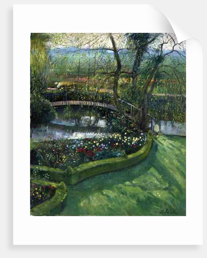 Bridge Over the Willow, Bedfield by Timothy Easton