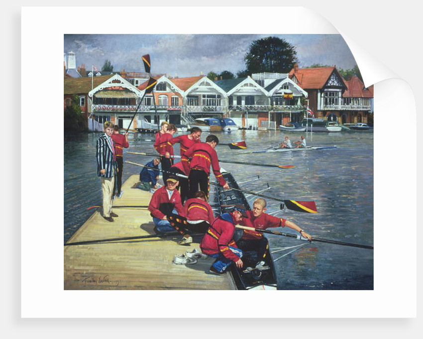 Towards the Boathouses, Henley by Timothy Easton