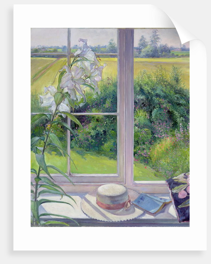 Window Seat and Lily by Timothy Easton