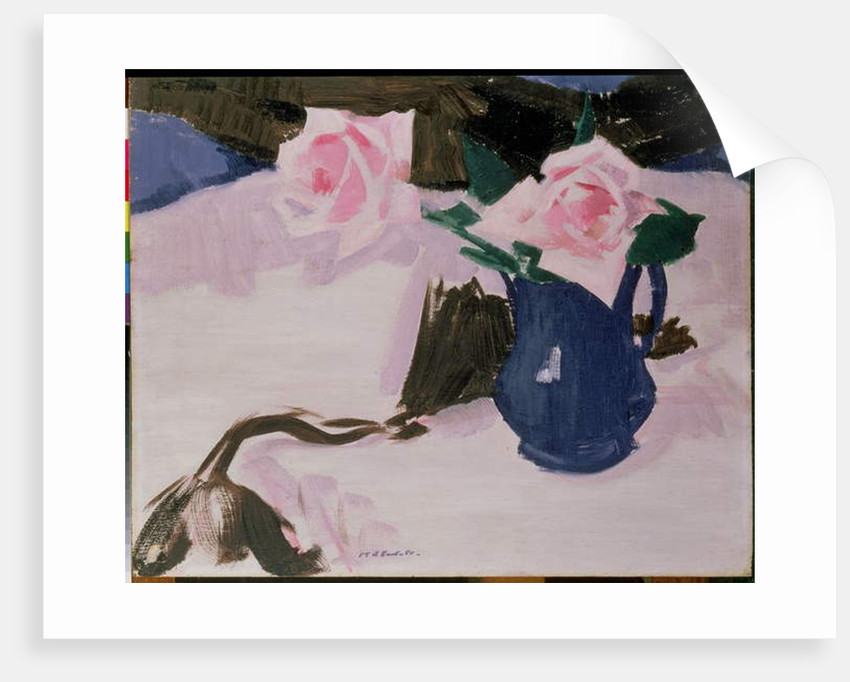 Roses by Francis Campbell Boileau Cadell