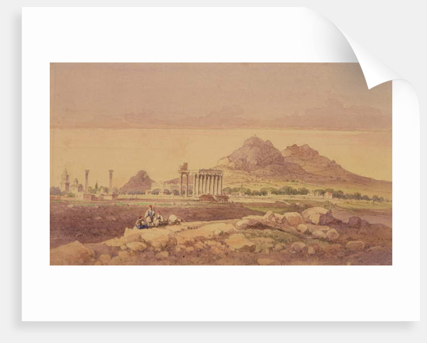 The Temple of Olympian Zeus, Athens by Joseph Schranz