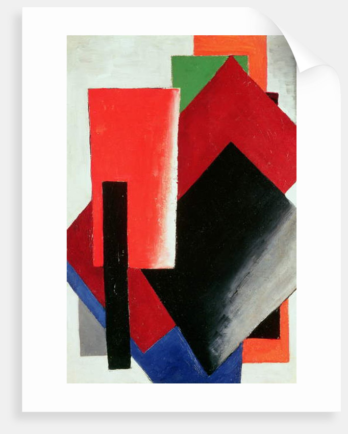 Architectonic Composition, 1918 by Lyubov Sergeevna Popova