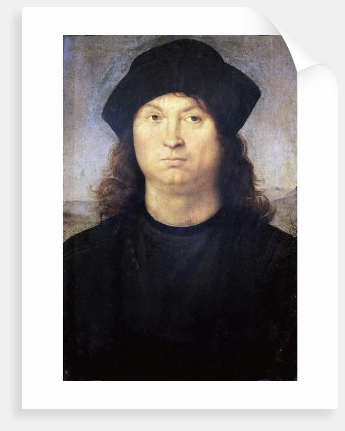 Portrait of a man, c.1502-04 by Raphael