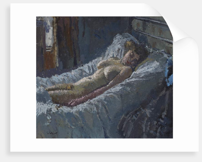 Mornington Crescent Nude, c.1907 by Walter Richard Sickert