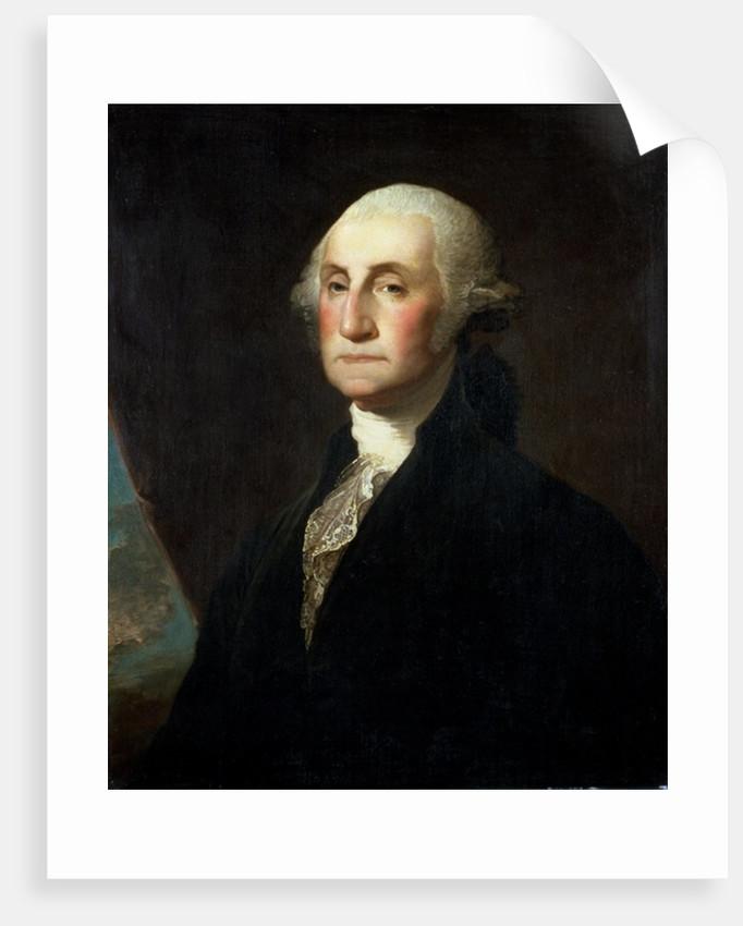 Portrait of George Washington, before 1801 by Gilbert Stuart