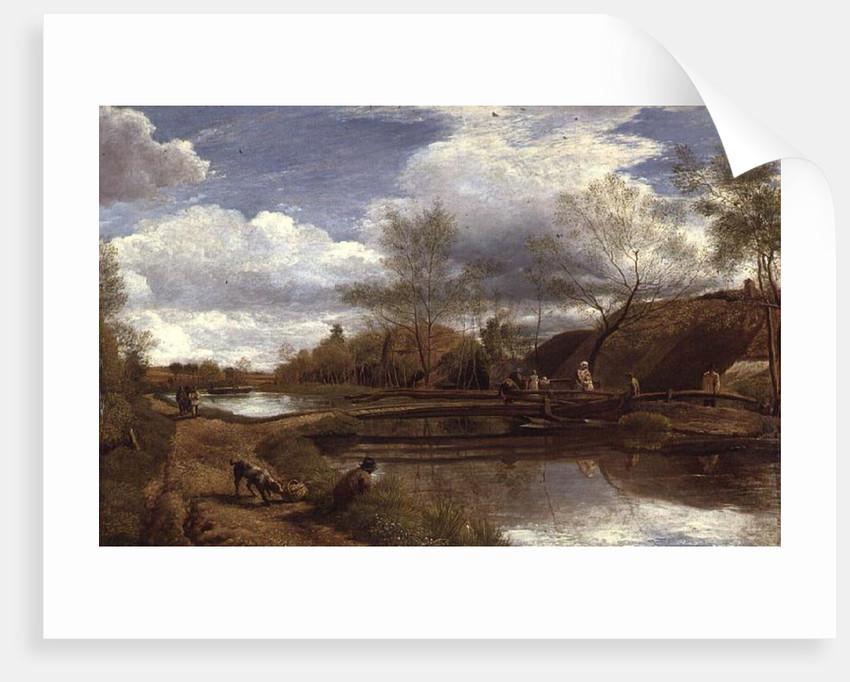 The River Kennet, near Newbury, 1815 by John Linnell