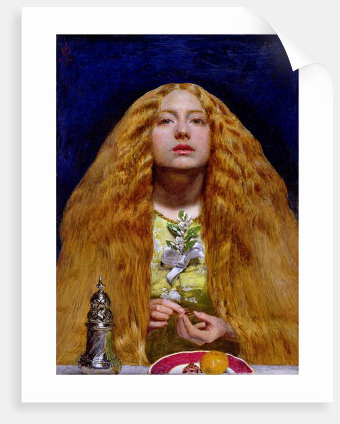 The Bridesmaid, 1851 by John Everett Millais