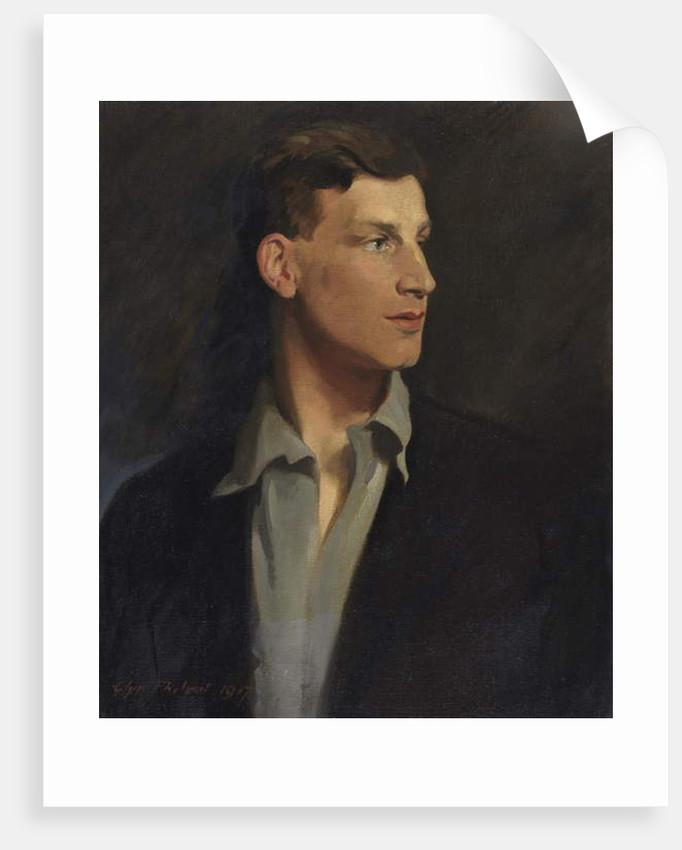 Portrait of Siegfried Sassoon 1917 by Glyn Warren Philpot