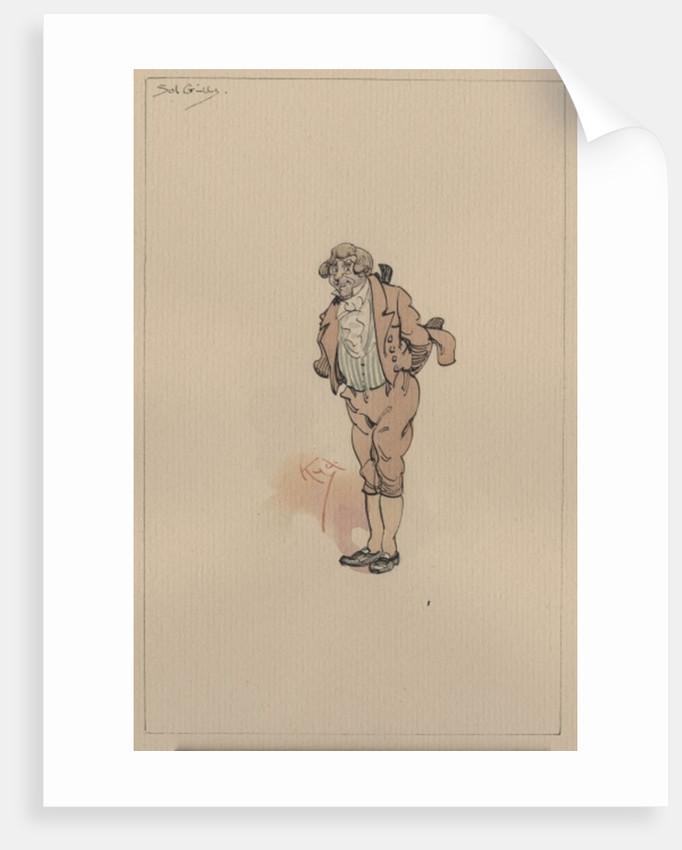 Solomon Gills, or Uncle Sol, c.1920s by Joseph Clayton (1856-1937) Clarke