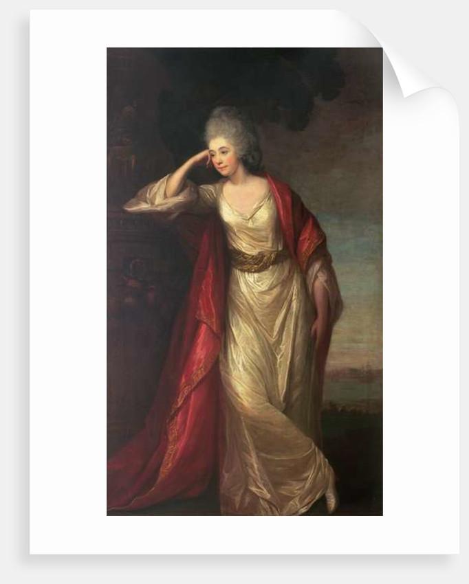 Margaret Kemble, 1775 by David Martin