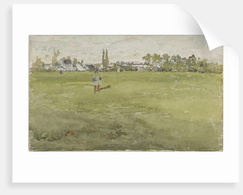 Green and Silver: Beaulieu, Touraine, 1888 by James Abbott McNeill Whistler