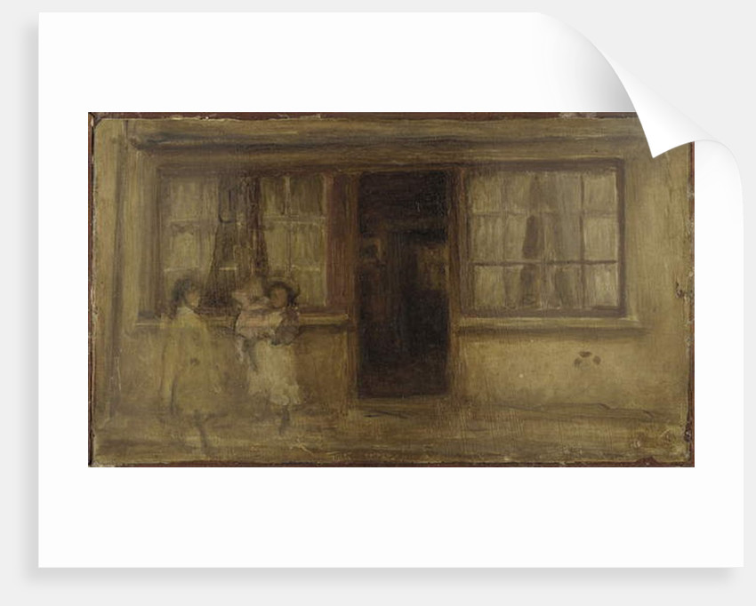 The Little Nurse, 1895 by James Abbott McNeill Whistler