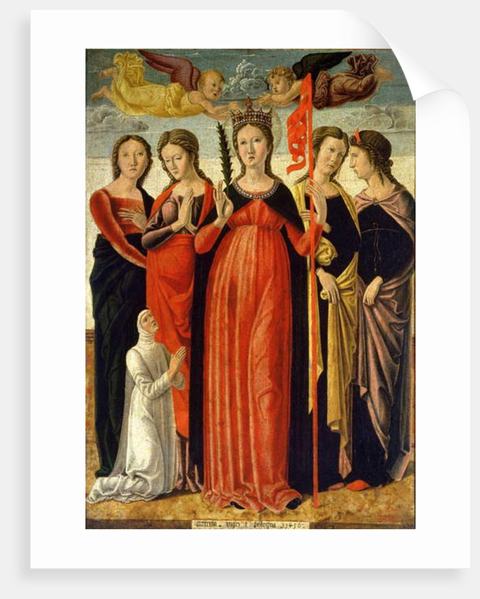 St. Ursula and Four Saints by Giovanni Bellini