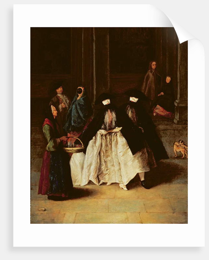 The Perfume Seller by Pietro Longhi
