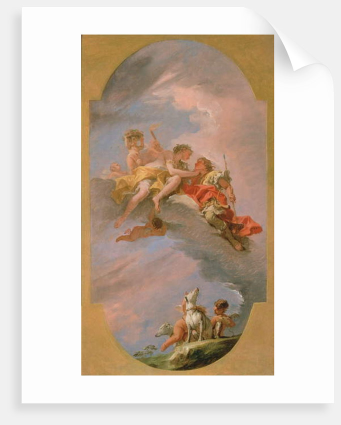 Venus and Adonis by Sebastiano Ricci