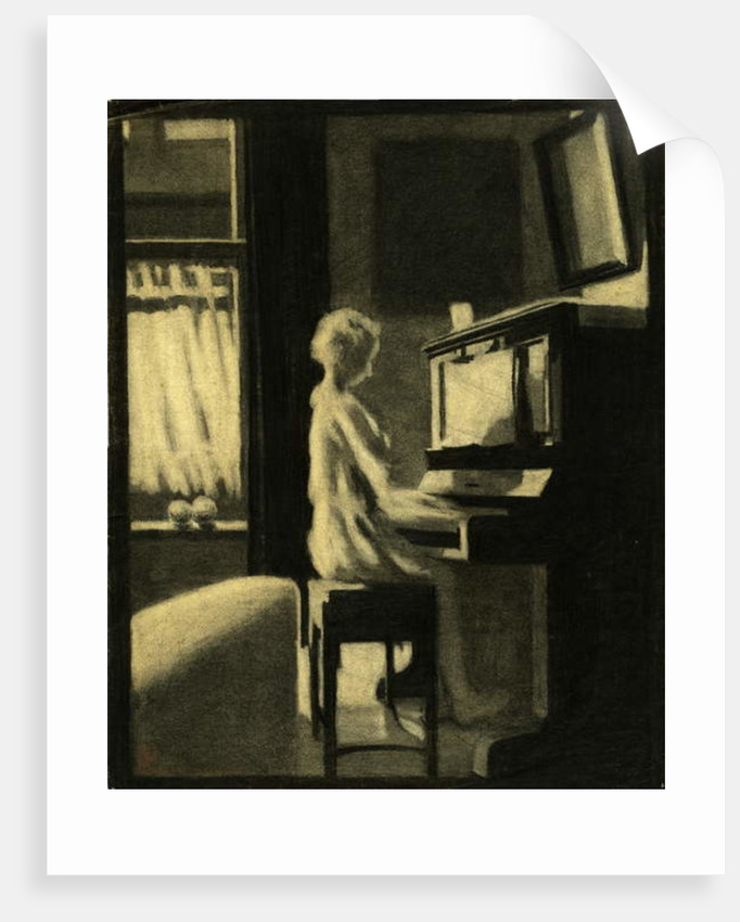 Dorothy Playing the Piano, 30th November 1931 by George Adamson