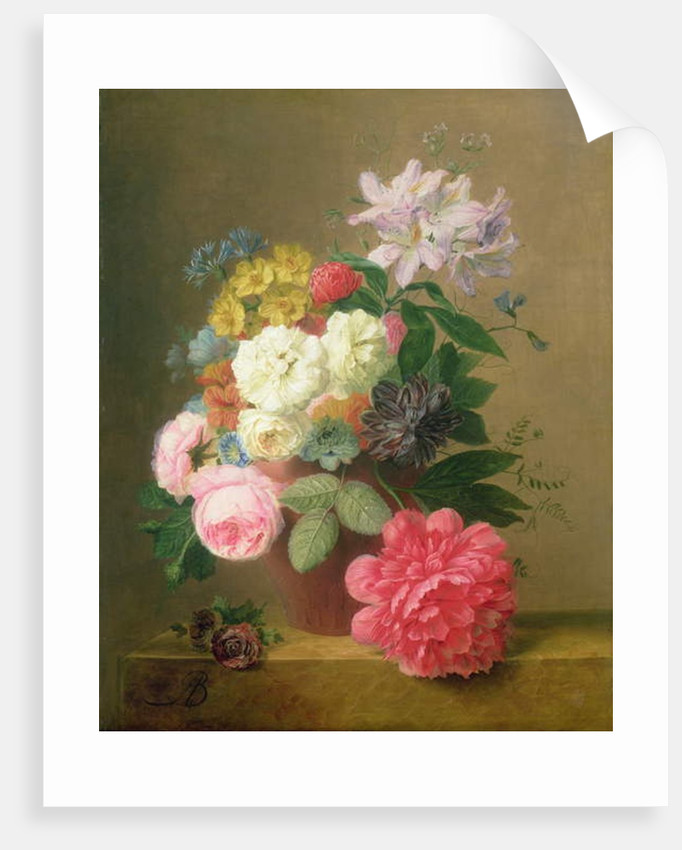 Still Life of Flowers by Arnoldus Bloemers