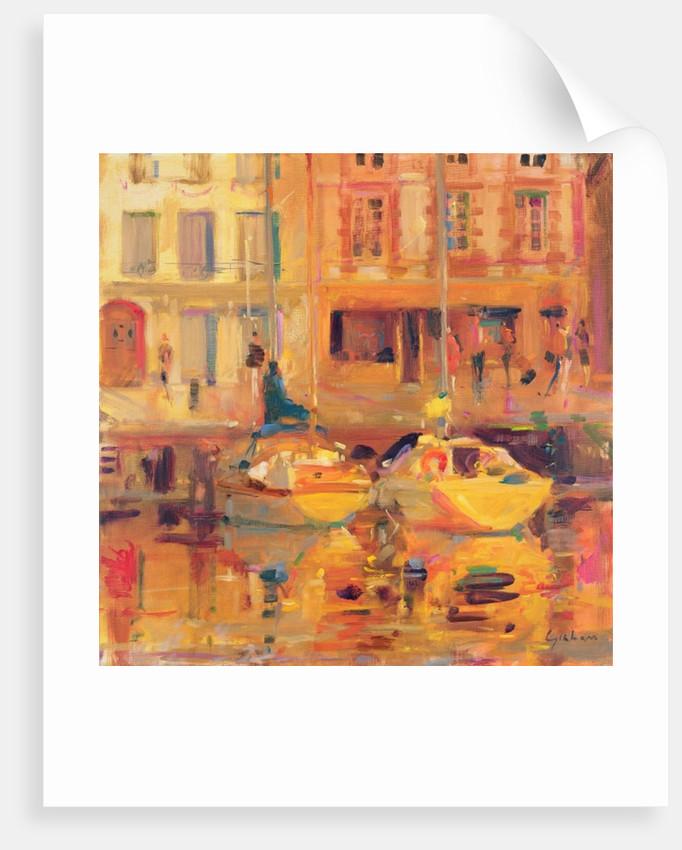 Les Deux Bateaux by Peter Graham