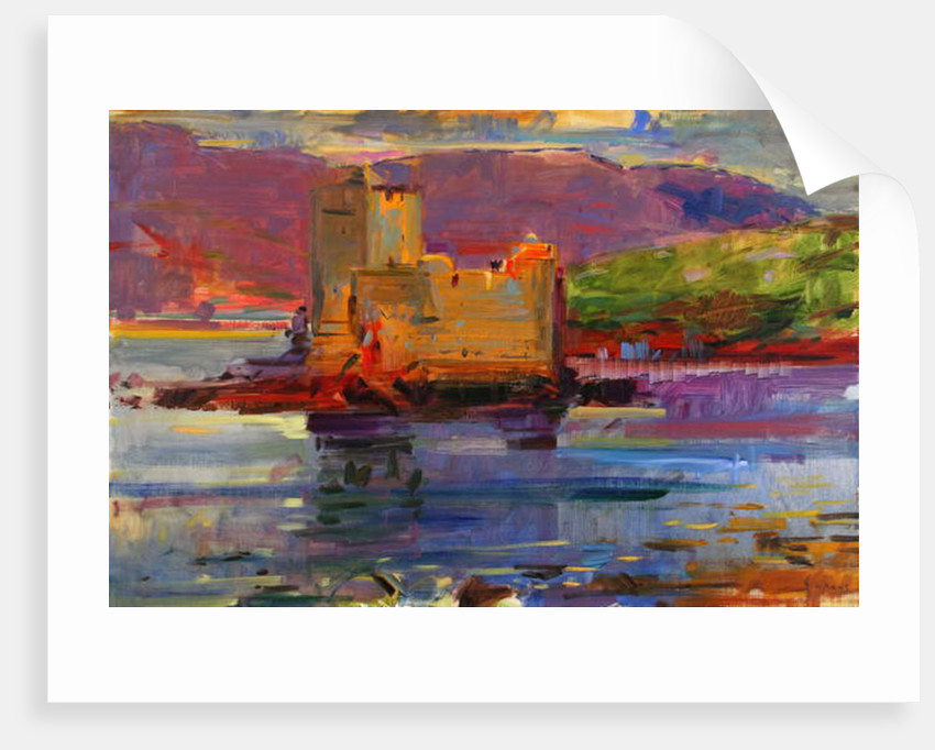 Kisimul Castle and Vatersay, 2012 by Peter Graham