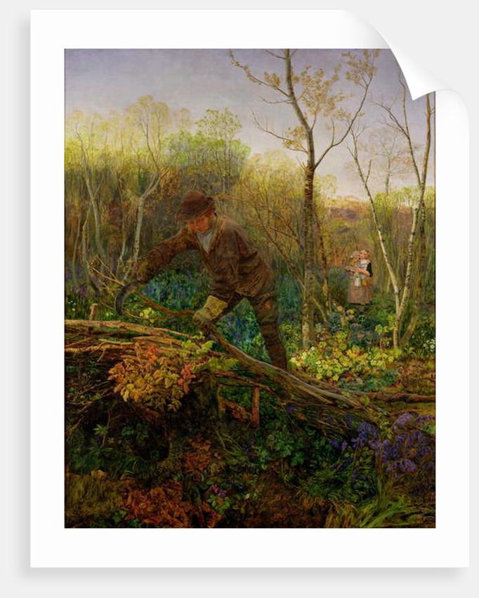 The Hedger, 1860 by John Brett