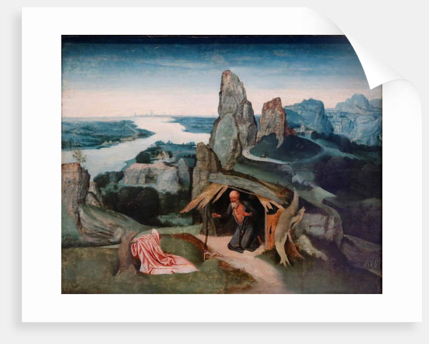 Saint Jerome in the Wilderness, c.1530 by Flemish School