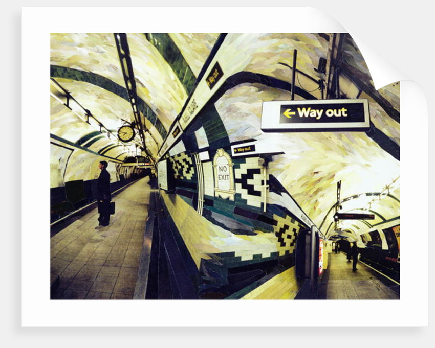 Way Out (Russell Square) by Ellen Golla