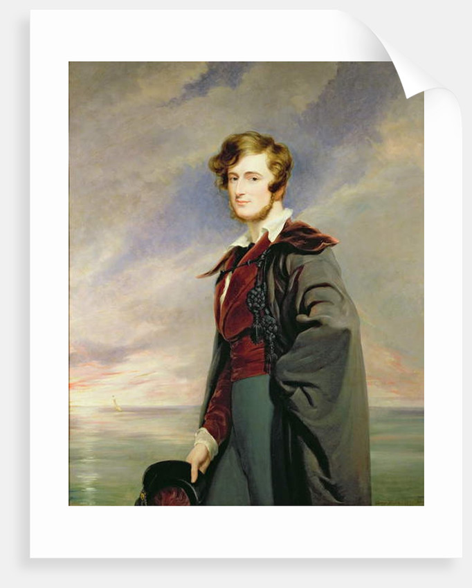 William 2nd Earl of Craven by George Hayter