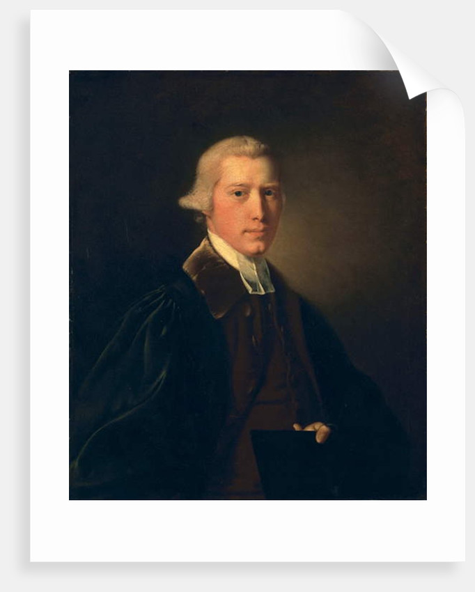 Young man with cap and gown, c.1760 by Joseph Wright of Derby